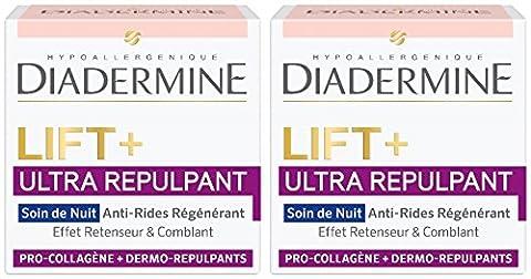 Diadermine Lift, Ultra Repulpant Crème Nuit 50 ml - Lot de 2