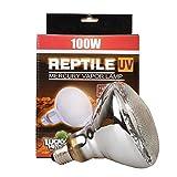 Reptile UVA UVB Quecksilberdampf Leuchtmittel Lampe, ES27Gewinde, 100Watt, 160Watt erhältlich, transparent