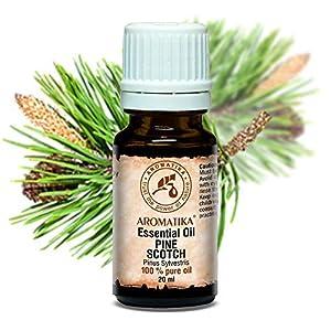 Kiefernadel Öl (Pine Scotch) 20ml – Pinus Sylvestris – Austria – 100% Reines & Natürliches Kiefernadelöl – Frischer Nadelduft – Kieferöl Gut für Wellness – Aromatherapie – Aroma Diffuser – Duftlampe