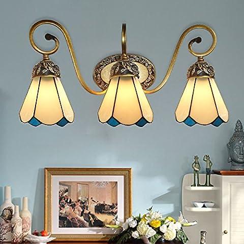 FEI&S stile moderno piccola lampada da parete lampada da parete creativa al posto letto balcone bagno scale luci luci Specchio specchio da parete lampada frontale #2A