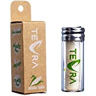 Vegan Dental Floss by TEVRA – Natural Dental Floss – Mint and Ginger Flavour – 30m
