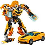 #5: M-Alive BumBleBee Transformer Prime Converting Car To Robot With Amazing Weapon For Kids