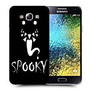 Snoogg Spooky Designer Protective Back Case Cover For SAMSUNG GALAXY E5