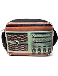 Retro Radio Reporter style Shoulder Bag