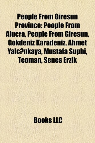 People from Giresun Province