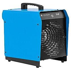 ALLEGRA Heizstrahler Heizlüfter 3Kw 3000 Watt Zeltheizung energiesparend Radiator Elektroheizung Elektroheizer Bauheizer Elektrisch Heizung H30 mit Thermostat