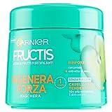 Garnier Fructis Rigenera Forza Maschera per Capelli Fragili Tendenti alla Caduta, 300 ml