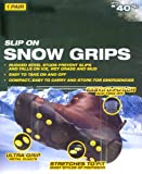 Snow Ice Shoe Grip Cleats Anti Slip For Winter Conditions Large Shoe Size 10 - 12