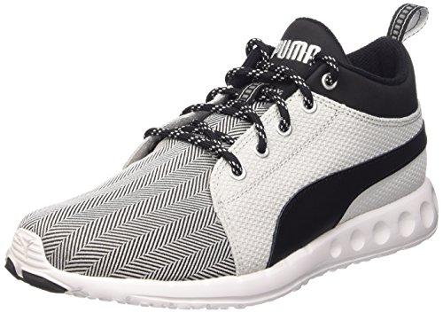 Puma Carson Mid Herring, Sneakers Hautes homme Gris - Grigio (Gray Violet/Black/White)