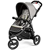 Peg Perego IP02300079BA53PL93 Passeggino Compatto, Luxe Grey