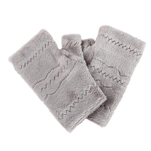 Handschuhe Transer® Frauen Fashion Herbst Winter Dick Warme Handschuhe Tastatur Leck Finger Handschuhe (Schal Tastatur)