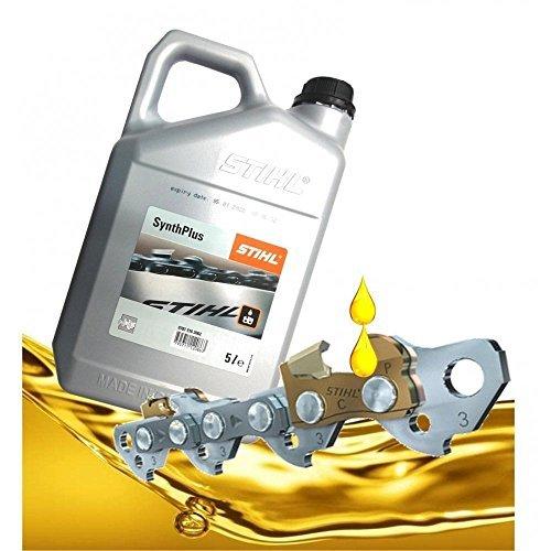 Price comparison product image Stihl Genuine 0781 516 2002 5L Synthplus Chain Oil