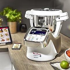 Idea Regalo - Moulinex HF900110 i-Companion Robot Multifunzione da Cucina, Connesso alla sua App Dedicata