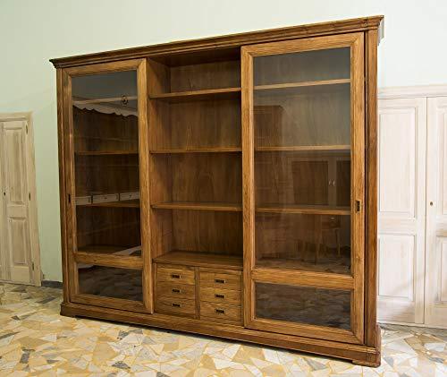 Ebanisteria Gambella - Bücherregal mit Schiebetüren -