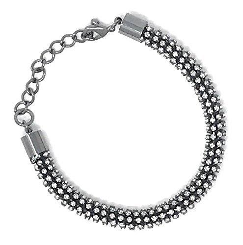 Armband mit Kristallen von Sarah Kern Damen 400 facettierten Kristallen