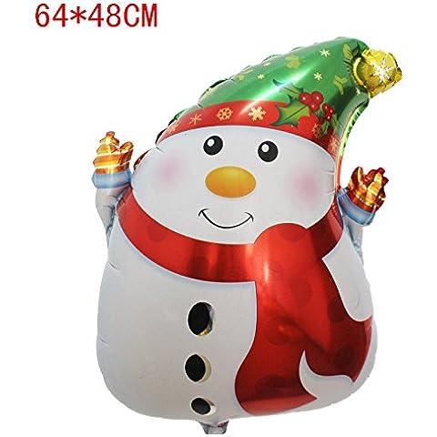 10pcs palloncino zucca Cartoon Natale Natale Decorazione Halloween Halloween festa decorazione sito layout giocattolo palloncino decorazioni alluminio,A64 * 48cm