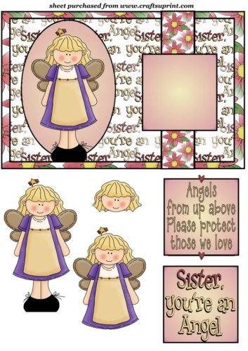 Sister Youre un angelo della parte anteriore di Sharon Poore - Youre Parte