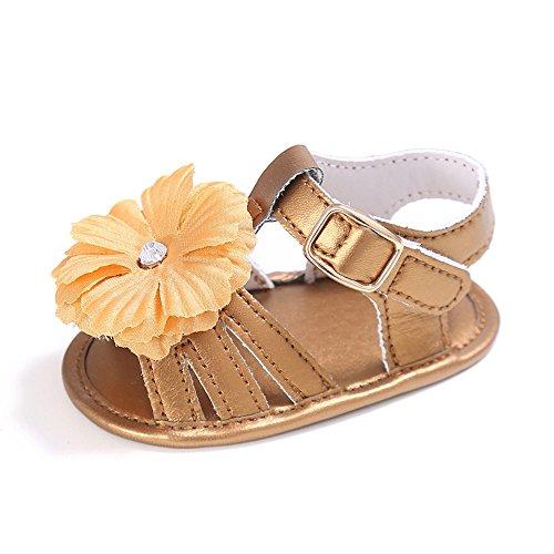 Baby Mädchen Sommer Schuhe Baby sandalen golden