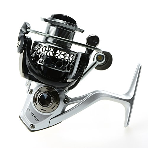 Croch Angelrolle Spinnrolle Stationärrolle 11+1 BB Kugellager 5,2:1 Spin Rolle Spinning Reel 2016 NEU Modernes Design
