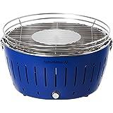 LotusGrill G-TB-435 Parrilla Carbón vegetal - Barbacoa (Kettle, Azul, De plástico, Acero)