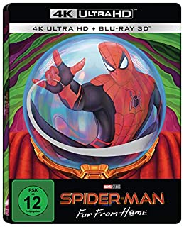 Spider-Man: Far From Home (Limited 3D UHD Steelbook) [Blu-ray]