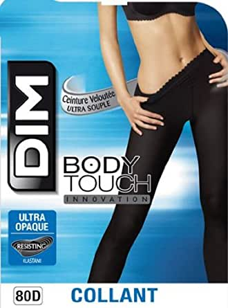 Dim Body Touch Ultra Opaque - Collants - 80 deniers - Femme - Noir - 1/2