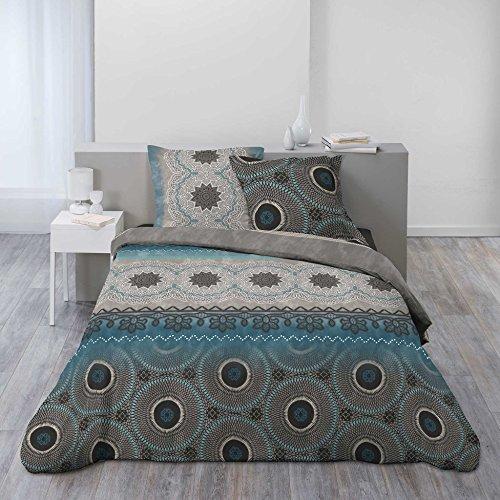 Bettbezug Baumwolle Bettwäsche (Ligne Douceur Bettwäsche Bettbezug, Baumwolle, mehrfarbig, 220x 240cm)