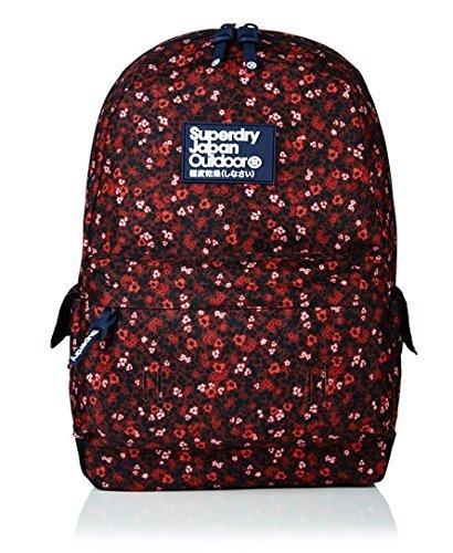 Para mujer Superdry Scatter de Sarah Papworth Montana mochila berry