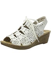 da83794ce99 Amazon.co.uk  Rieker - Sandals   Women s Shoes  Shoes   Bags
