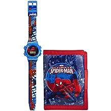 Spiderman-Orologio per bambino con Display analogico e cinturino in plastica,