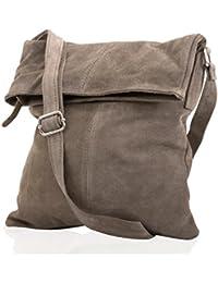 Cuir sac à bandoulière Messenger daim mod. 2030-p