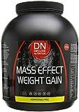 Deluxe Nutrition Mass Effect Weight Gainer Chocolate Whey Protein Casein Glutamine 2.5kg
