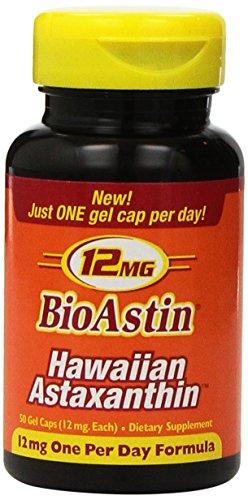 Nutrex Hawaii BioAstin Hawaiian Astaxanthin 12mg 50 Gelcaps - 51PEoeMKB%2BL