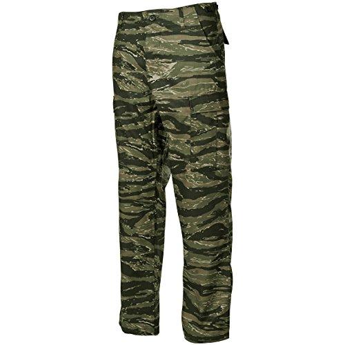 MFH BDU Combat Trousers Ripstop Tiger Stripe
