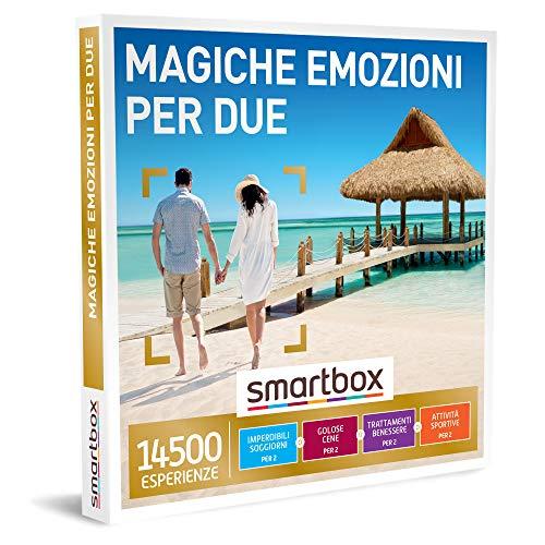Smartbox - Magiche emozioni per due Cofanetto Regalo Multiattività Un soggiorno o una cena o una pausa benessere o un'attività di svago per 2 persone