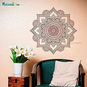 Mandala Wandaufkleber Kunst Aufkleber Schimmel Heimtextilien Kopfteil Wohnzimmer Schlafzimmer selbstklebend exquisite Wandaufkleber Geschenk