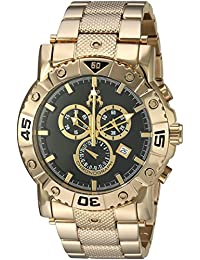 Jivago Men's 'Titan' Swiss Quartz Stainless Steel Casual Watch, Color:Gold-Toned (Model: JV9124XL)