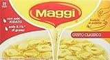 Maggi Dado Gusto Classico Preparato per Brodo - 6 confezioni da 20 pezzi da 10 g [120 pezzi, 1200 g]
