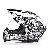 LL Motorrad Offroad Full Helmet Mountain Bike Small Road Car Outdoor Männer und Frauen,2,XL