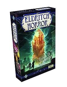 Fantasy Flight Games FFGEH06 Signs of Carcose Eldrith Horror Brettspielerweiterung, engl.