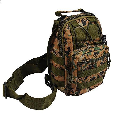 Molie 28cmx20cmx10cm Sport Outdoor Military Rucksacks Tactical Backpack Camping Hiking Trekking Bag Digital