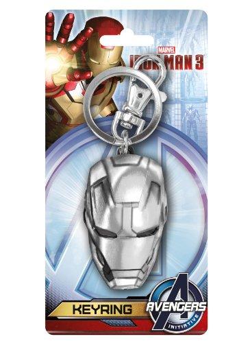 Iron Man 3 Helmet Avengers Marvel Pewter - Portachiavi Metallo