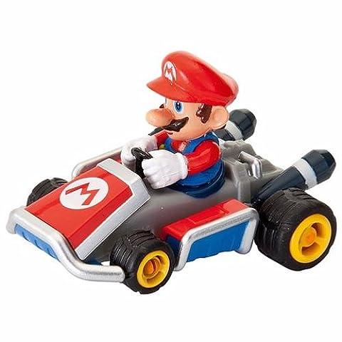Nintendo Mario Kart 8 Pullback Racer Car 1:43 Figure Collection Mario