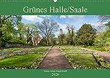 Grünes Halle/Saale - Meine wilde Händelstadt (Wandkalender 2020 DIN A2 quer): Die grüne Seite von Halle/Saale (Monatskalender, 14 Seiten ) (CALVENDO Orte) -