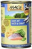 Mac's Lachs mit Pasta & Spinat, 6er Pack (6 x 400 g)