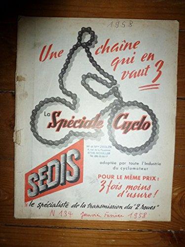 REVUE TECHNIQUE MOTO CODE DE LA ROUTE RTM0134 - Janvier/Février 1958