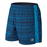 New Balance Herren schneller mit 7-Zoll-Shorts, Herren, MS81279, Maldives Blue, Large