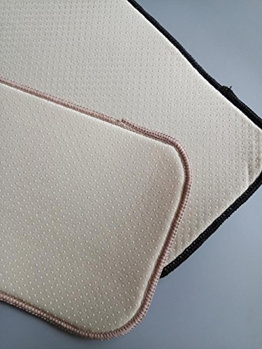 Küche zinntheken Schnell saugfähig Tasse Trocknen Schnell trocknend Matte Pad Abtropffläche Matte Mikrofaser Schwamm quadratisch 20x 40cm Light Brown X2