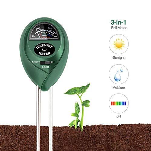 N Pflanze Blumen Boden Ph Tester Feuchtigkeit Messung Feuchtigkeit Licht Meter Hydrokultur Analyzer Gartenarbeit Detektor Hygrometer Analysatoren Werkzeuge