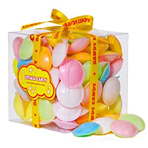 Flying Saucers Sweets Cube - A Great Present For Anyone, Stocking Filler or Present For Any Occasion